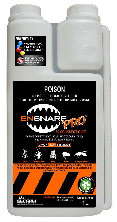 Sundew EnsnarePRO 50 SC Indoxacarb non repellent residual insecticide